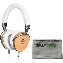 FR18BW White Oak Wood HiFi Headphone Bundle