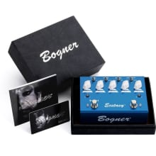 Ecstasy Blue Overdrive/Boost Guitar Pedal