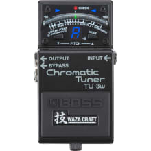 TU-3W Waza Craft Chromatic Tuner Pedal