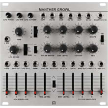 Malekko Manther Growl Monosynth Eurorack Synth Mod