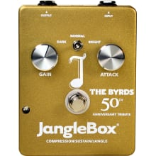 The Byrds 50th Anniversary Compressor Pedal