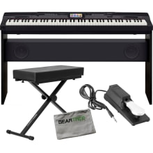 CGP700BK Compact Grand Piano Bundle