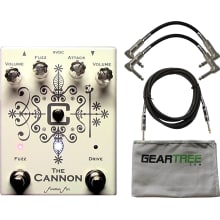 The Cannon Dual Fuzz Pedal Bundle