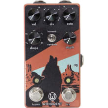 Walrus Monument V2 Harmonic Tap Tremolo Effects Pe