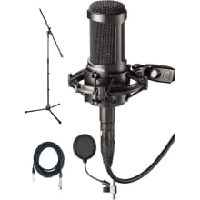 AT2050 Studio Condenser Mic Bundle