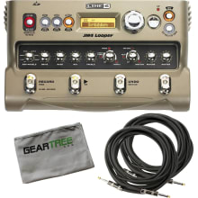 Line 6 JM4 Looper Stompbox Modeler Bundle w/ 2 Cab