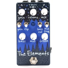 The Elements Gold Bar Distortion Fuzz Pedal