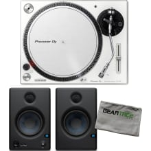 Pioneer DJ PLX-500-W White Direct Drive Turntable