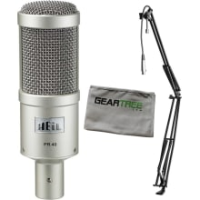 PR-40 Dynamic Studio Recording Microphone Bundle