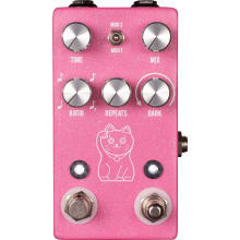 JHS Lucky Cat Delay Pedal (Pink)