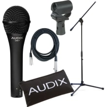 OM7 Professional Dynamic Vocal Microphone Bundle