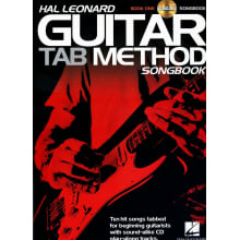 Guitar Tab Method Songbook 1 w/CD