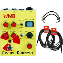 Geiger Counter Preamp Distortion Pedal Bundle