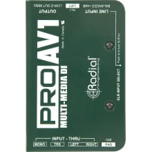 ProAV1 DI Passive MultiMedia Direct Box