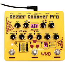 WMD Geiger Counter Pro Digital Destruction Pedal