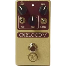 Oxblood Overdrive/Boost Guitar Pedal