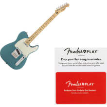 Fender Player Telecaster Maple Fingerboard Tidepoo