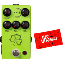 JHS The Clover Preamp Pedal w/ JHS Sticker
