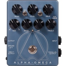 Alpha Omega Bass Effect Pedal