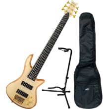 Stiletto Custom 6-String Natural Bass Bundle