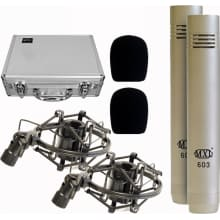 603 Condenser Microphone Pair with Case