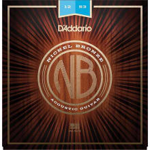 NB1253 Nickel Bronze Acoustic Guitar Strings