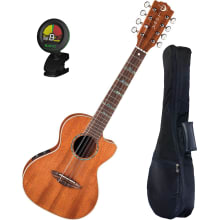 High Tide 8-String Tenor Ukulele Bundle