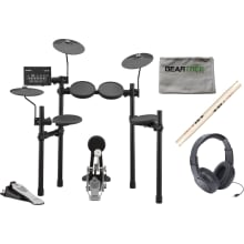Yamaha DTX452K Electronic Drum Set w/ Headphones,