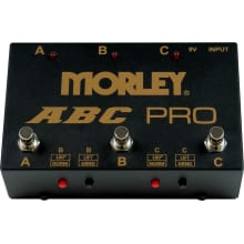 Morley ABC Pro 3-Button Switcher/Combiner Pedal