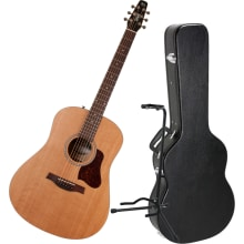 Seagull S6 Original 046386 Acoustic Guitar Bundle