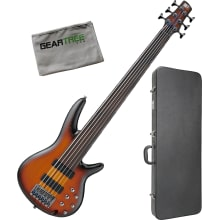 Ibanez SRF706 BBF Brown Burst SR Bass Workshop 6st