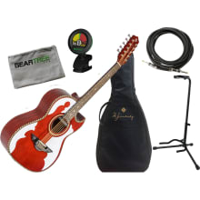 Bajo Quinto LBQ4ETR Acoustic-Electric Bundle