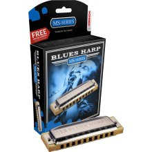 532 Blues Harp MS Diatonic Harmonica