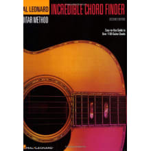 Incredible Chord Finder Reference Book