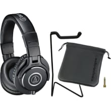 ATH-M40x Monitor Headphone Bundle