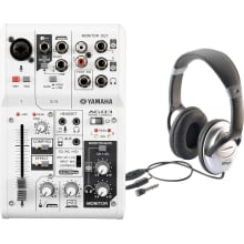 AG03 3-Input USB Audio Interface Mixer Bundle