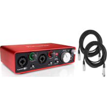 2nd Gen Scarlett 2i2 USB Recording Interface Pack