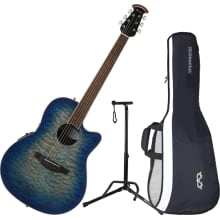CS28P-RG Celebrity Plus A/E Guitar Bundle