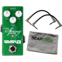 Wampler Mini Faux Spring Reverb Effect Pedal w/ 2