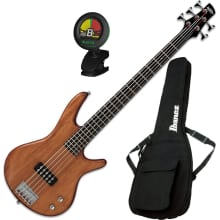 GSR105EXMOL 5-String Electric Bass Guitar Bundle