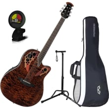 CE48P-TGE Celebrity Elite Plus A/E Guitar Bundle