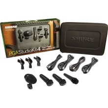 PGASTUDIOKIT4 Studio Microphone 4-Piece Kit
