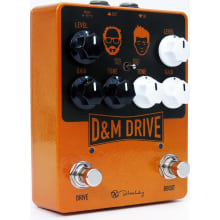 D&M Drive and Boost Guitar Effect Pedal