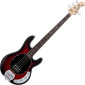 Sterling RAY4-RRBS-R1 Ray4 Ruby Red Burst 4-String