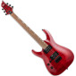 H-200FM See Thru Red Left Handed Electric Guitar