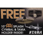 Add-On Meinl 10 Inch Splash Cymbal w/ Holder