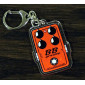 BB Preamp Effects Pedal Keychain