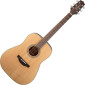 GD20-NS Satin Natural Dreadnought Acoustic Guitar