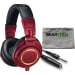 ATH-M50XRD Studio Monitor Headphone Bundle