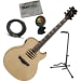 Mako Mustaine Flame Top Acoustic-Electric Bundle